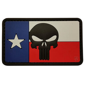 5ive Star Gear PVC Morale Patch Texas Flag Punisher