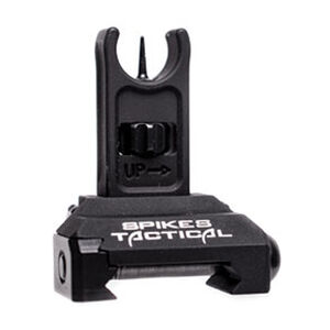 Spike's Tactical Front Folding Micro Sight G2 Aluminum Black