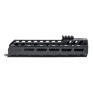 "Lancer OEM SIG Sauer MCX Hand Guard 12"" Direct Replacement Hand Guard Cooling Slots Carbon Fiber Black"