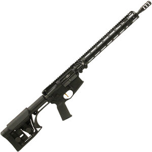 "Adams Arms P3 AR-15 Semi Auto Rifle 5.56 NATO 16.5"" Barrel 30 rounds Piston Operated System LUTH-AR Adjustable Stock Black"