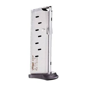Walther CCP Magazine 9mm Luger 8 Rounds Stainless Steel 50860002