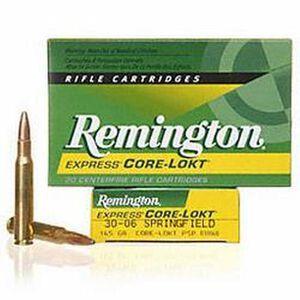 Remington .30-06 SPRG 180 Grain PSP 20 Round Box