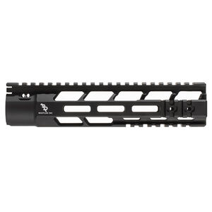 "Bootleg PicLok AR-15 9"" One Piece Free Float Hand Guard Full Length Mil-Spec Picatinny Top Rail 6061 Aluminum Hard Coat Anodized Matte Black Finish"