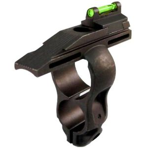 HiViz Front Sight Henry Rifle Fiber Optic Family Steel Black HHVS001