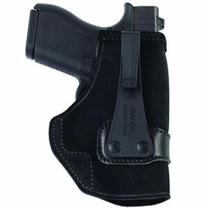 Galco Tuck-N-Go Inside the Pant Holster S&W M&P Shield 9/40/45 IWB Right Hand Leather Black Finish TUC652B