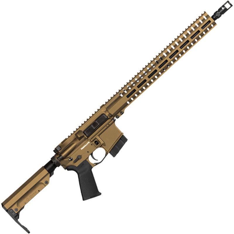"CMMG Resolute 300 MkW-15 6.5 Grendel AR-15 Semi Auto Rifle 16"" Barrel 10 Rounds RML15 M-LOK Handguard RipStock Collapsible Stock Burnt Bronze Finish"