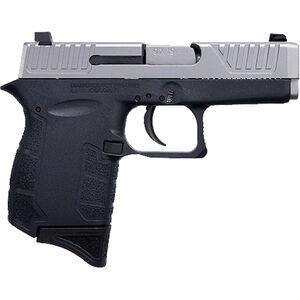 "Diamondback DB9NB 9mm Luger Semi Auto Pistol 3"" Barrel 6 Rounds Black Polymer Frame with Nickel Boron Slide Finish"