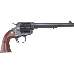 "Cimarron Bisley Model Revolver 357 Mag 7.5"" Barrel 6 Rounds Color Case Hardened Frame Walnut Grip Blued"