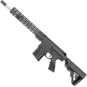 "Rock River Arms Enhanced Mid-Length A4 LAR-BT3 .308 Win Semi-Auto Rifle 16"" Barrel 20 Rounds Optics Ready Synthetic Stock Black Finish"