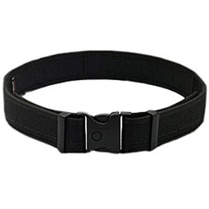 Uncle Mike's Ultra Duty Belt Kodra Nylon with Hook and Loop Backing XXL Black 87792