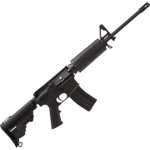 """DPMS Panther A3 Lite 16 AR-15 Semi Auto Carbine .223 Rem/5.56 NATO 16"""" Lightweight Barrel 30 Rounds Collapsible Buttstock Black Anodized Finish RFA3-L16"""
