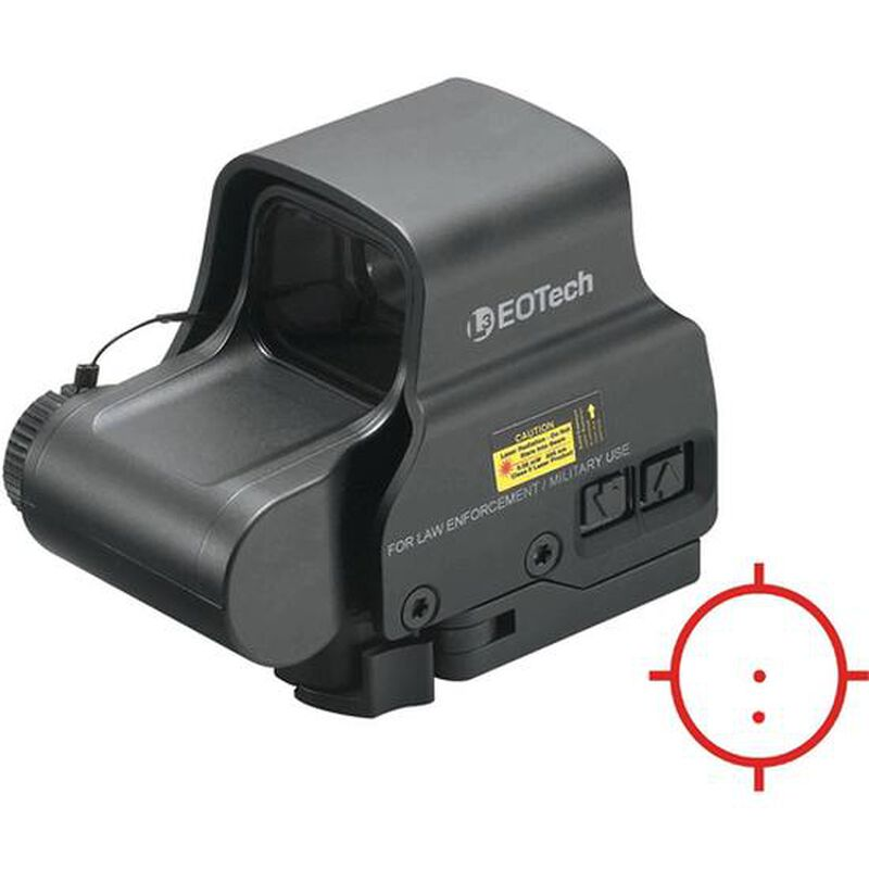 EOTech EXPS2 Holographic Weapon Sight 65 MOA Ring and Two 1 MOA Dots QD Picatinny Black EXPS2-2