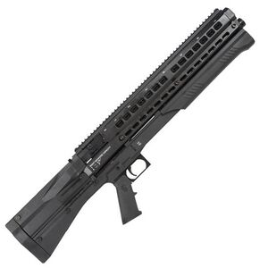 "UTAS UTS-9 Pump Action Shotgun 12 Gauge 18.5"" Barrel 3"" Chamber 9 Rounds Synthetic Stock Black PS1CM2"