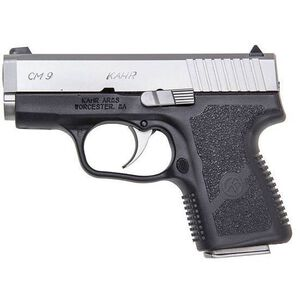 "Kahr CM9 9mm Luger 3"" 6rds Night Sights Polymer Stainless"