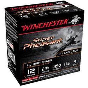"""Winchester Super Pheasant 12 Ga 2.75"""" #5 Lead 25 Rounds"""