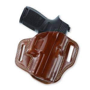 Galco Combat Master Belt Holster for SIG-SAUER P365 W/TLR6 Right Hand Leather Tan