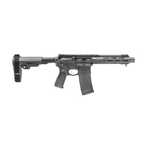 "Springfield Armory SAINT Victor .223/5.56 NATO AR-15 Semi Auto Pistol 7.5"" Barrel 30 Rounds With SB Tactical SBA3 Pistol Brace Black"