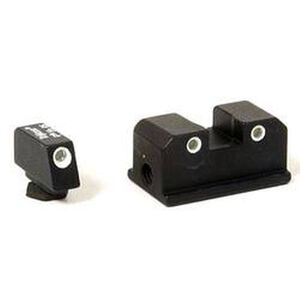 Trijicon Night Sight Set Walther P99/PPQ Three Dot Tritium Green Steel Matte Black WP01