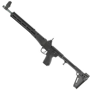 "Kel-Tec Model Sub 2K, 9 Carbine, Semi-automatic Rifle, 9MM, 16.1"" Barrel, Blue Finish, Black Stock, Adjustable Sights, 17Rd, Glock OEM 19 Magazine SUB2K9GLK19BBLK"