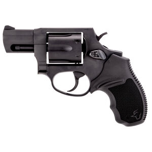 """Taurus 856 UL Ultralite .38 Special +P Double Action Revolver 2"""" Barrel 6 Rounds Fixed Sights Rubber Grips Black Finish"""