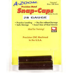 A-Zoom Snap Caps 28 Gauge Aluminum 2 Pack 12214