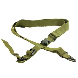 JE Machine Three-Point Sling Green
