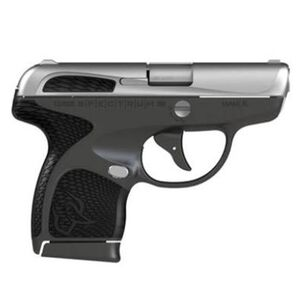 "Taurus Spectrum Semi Auto Pistol .380 ACP 2.8"" Barrel 6/7 Round Magazines Low Profile Fixed Sights Stainless Steel Slide/Polymer Frame Gray/Black Accents"