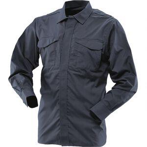 Tru-Spec Men's 24-7 Series Ultralight Long Sleeve Uniform Shirt Regular/Long Navy 1058005