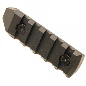 "Guntec AR-15 3.00"" Removable M-LOK Accessory Rail Aluminum Anodized Black"
