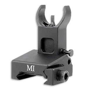 Midwest Industries AR-15 Low Profile Flip Up Front Sight Picatinny Matte Black MI-LFFR