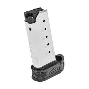 Springfield Armory XD-S Mod.2 6 Round Magazine .45 ACP With X-Tension Sleeve Black XDSG5006