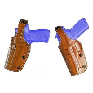 """Galco Phoenix S&W N Frame Revolver 6.5"""" Dual Position Belt Holster Left Hand Leather Tan PHX129"""