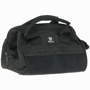 "Tool Bag 12x9.5x9"" Black Heavy Construction Drago Multiple Pockets to Organize Gear"
