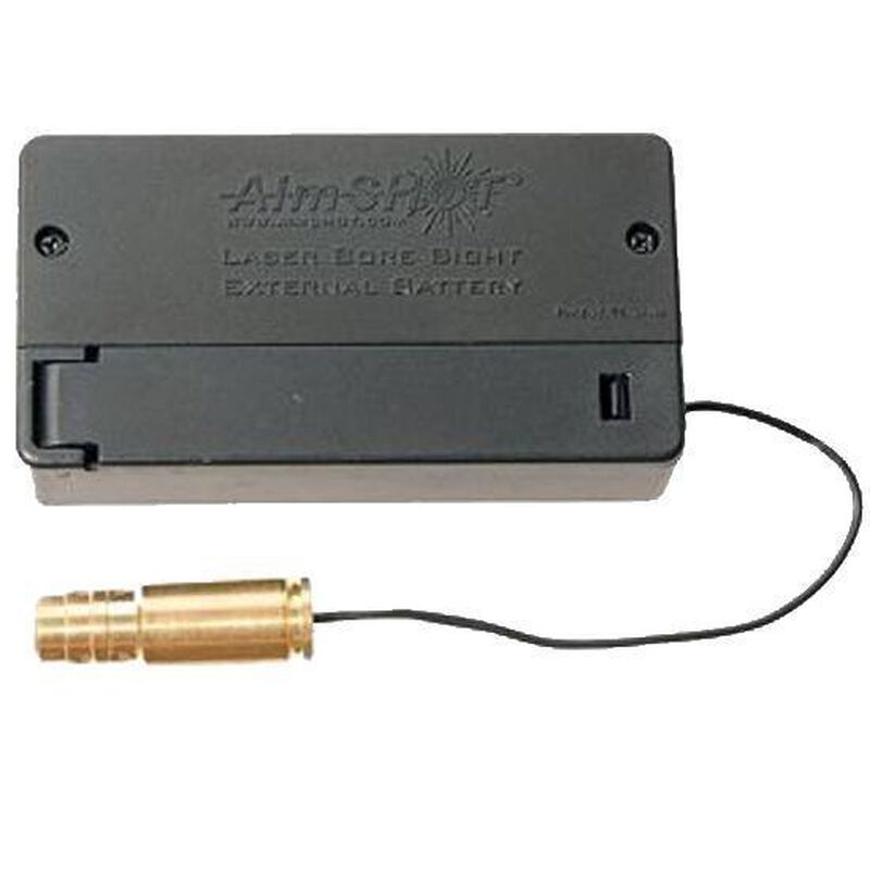 AimSHOT 9mm Laser Boresight with External Battery Box BSB9