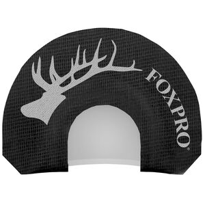 FoxPro Loose Cow Diaphragm Elk Call Two Reed Black