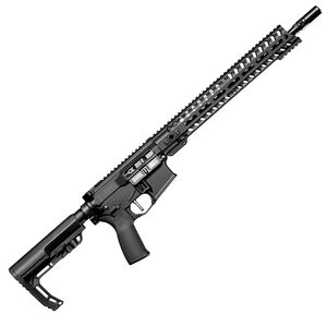 "POF USA Minuteman .350 Legend Semi Auto Rifle 16.5"" Barrel 10 Rounds Direct Gas Impingement System 14.5"" M-LOK Free Float Rail Collapsible Stock Matte Black"