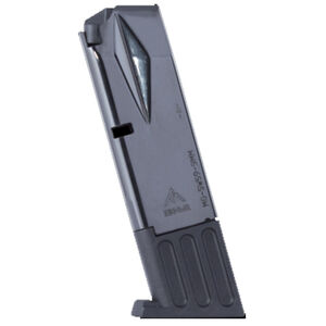 Mec-Gar S&W 5906 Magazine 9mm Luger 10 Round Capacity Steel Tube Polymer Floor Plate Blued