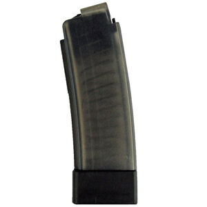 CZ-USA CZ Scorpion EVO 3 S1 20 Round Magazine 9mm Luger Polymer Construction Translucent Smoke Finish
