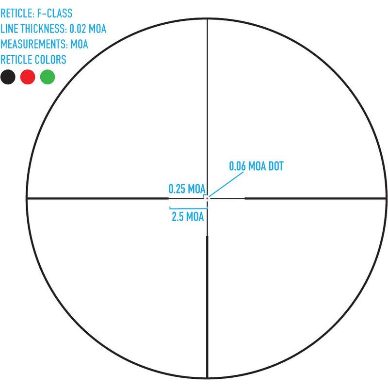 Sightmark Latitude F-Class 6.5-25x56, Riflescope, Aluminum, Illuminated Reticle, 34mm Tube, Matte Black