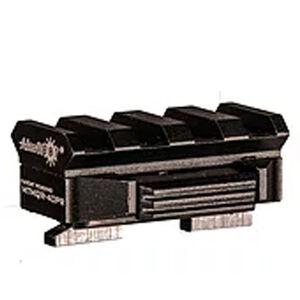 """AimSHOT Quick Release M-LOK Rail 1.5"""" Aluminum Black"""