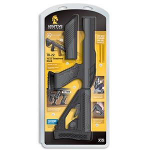 Adaptive Tactical Tac-Hammer TK22 Ruger 10/22 Takedown Stock Polymer Black