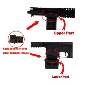JE Machine DPMS Del-Ton Platform Upper & Lower Vise Block Black