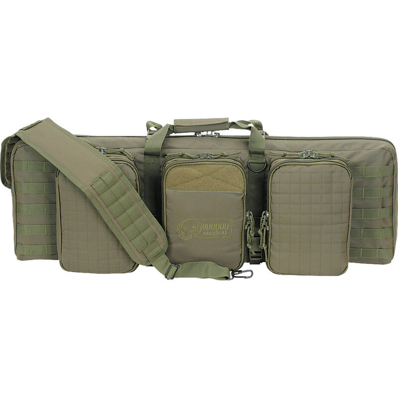 """Voodoo Tactical 36"""" Deluxe Padded Weapons Case Nylon OD Green 15-0055"""