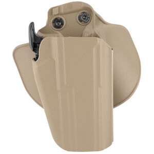 Safariland Model 578 Paddle/Belt Loop OWB Holster Right Hand Draw SIG Sauer P226 SafariSeven Construction STX Plain Flat Dark Earth