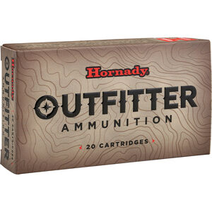 Hornady Outfitter .270 Winchester Ammunition 20 Rounds GMX 130 Grains