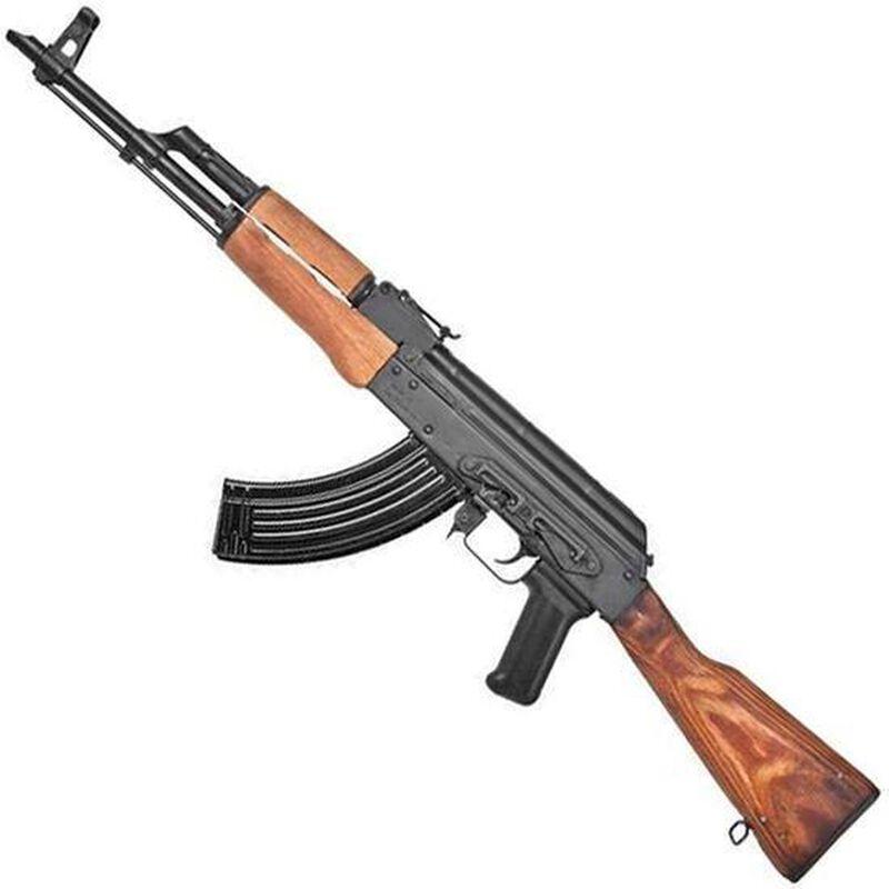 "Century Arms GP WASR-10 AK-47 Semi Auto Rifle 7.62x39mm 16.25"" Barrel 30 Round Detachable Box Magazine Stamped Receiver Wooden Furniture Matte Black Finish"