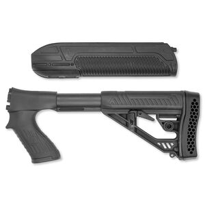 Adaptive Tactical EX Performance Forend And M4-Style Stock Black AT-02000