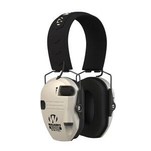 Walker's Razor Digital PRO Electronic Earmuffs NRR 23dB White