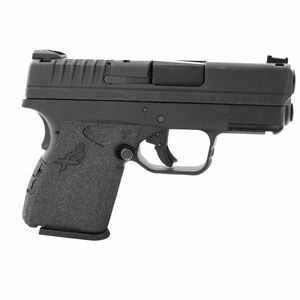 TALON Grips Springfield XD-S 9/.40/.45 Granulated Low Profile Grip Black 212G