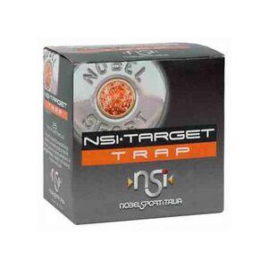 "NobelSport Target Trap 20 Gauge Ammunition 25 Rounds 2.75"" #8 Lead 7/8 Ounce ANS208"